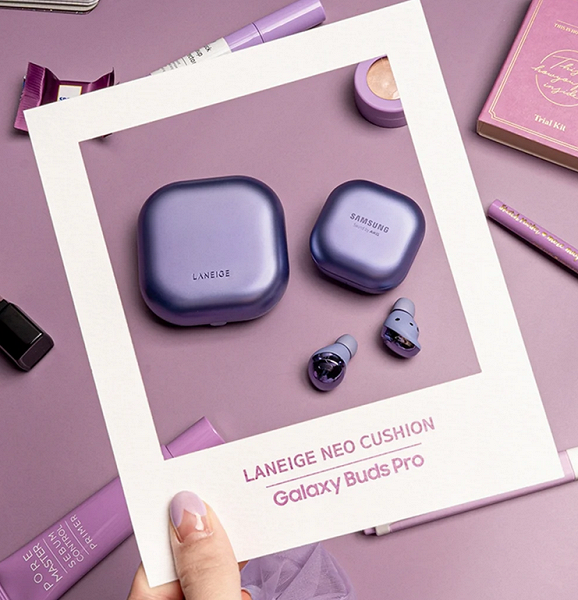 Samsung выпустила наушники Galaxy Buds Pro Laneige Neo Cushion Edition