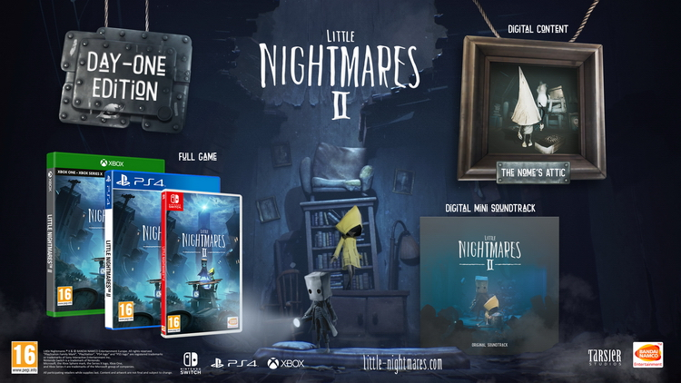 Диорама и маска Мокудзина: подробности изданий ужастика Little Nightmares II