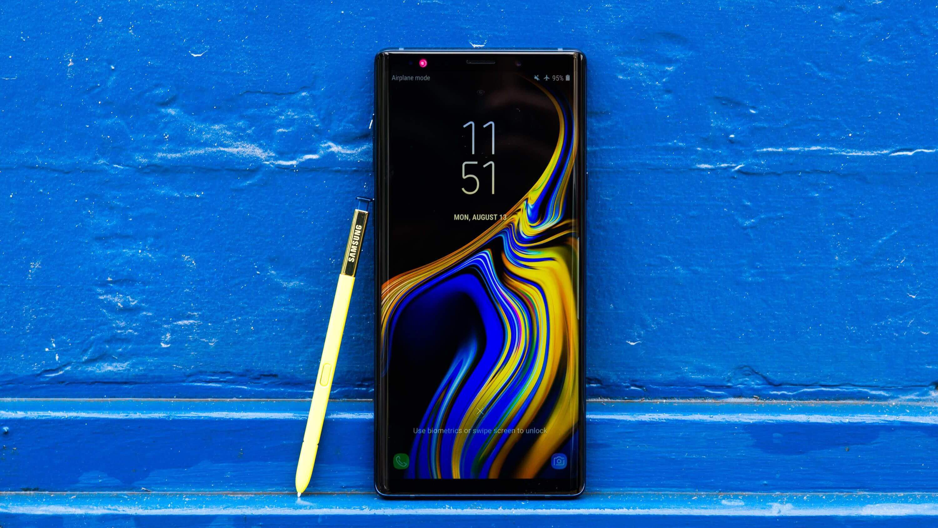 Xiaomi Mi MIX 3 и Samsung Galaxy Note 9 получили Android 10