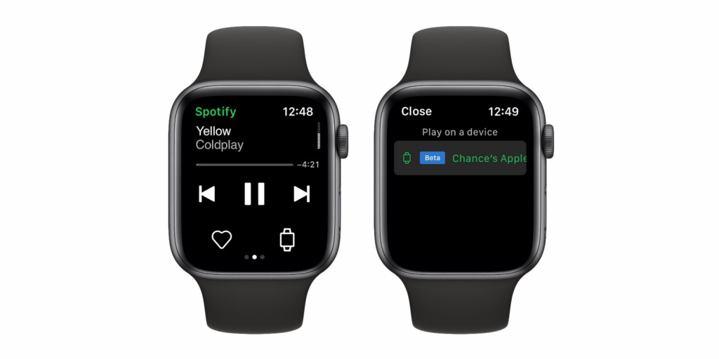 Spotify разрешит слушать музыку на Apple Watch без необходимости подключения к iPhone