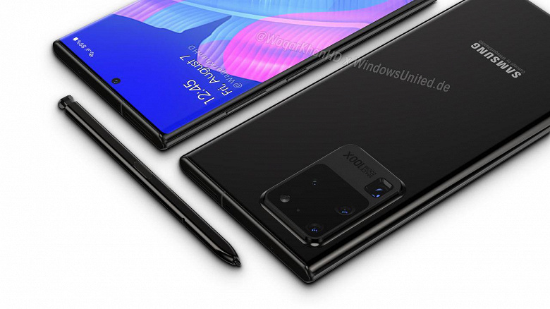 Samsung Galaxy Note 20 Ultra получит первый в истории экран LTPO с частотой 120 Гц